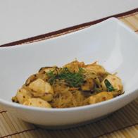 Skinny Chicken Shiitake Shirataki Stir Fry